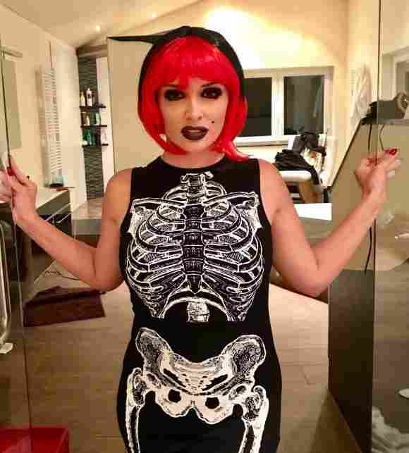 Daniela Katzenberger Halloween Kostüm