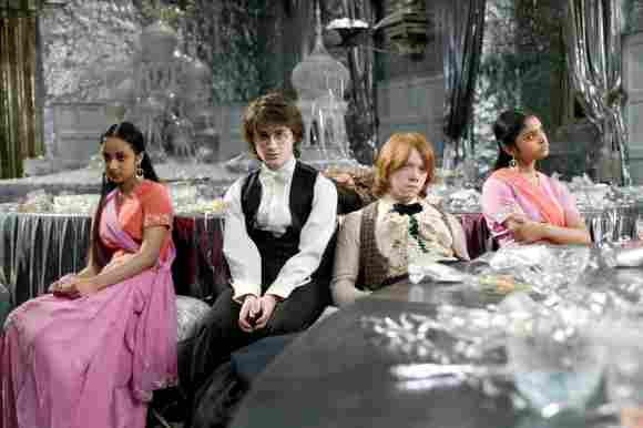"""Harry Potter"", ""Ron"" und die ""Patil""-Zwillinge"