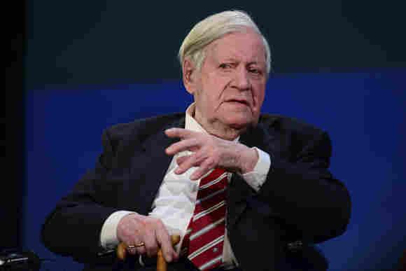 Helmut Schmidt ist tot