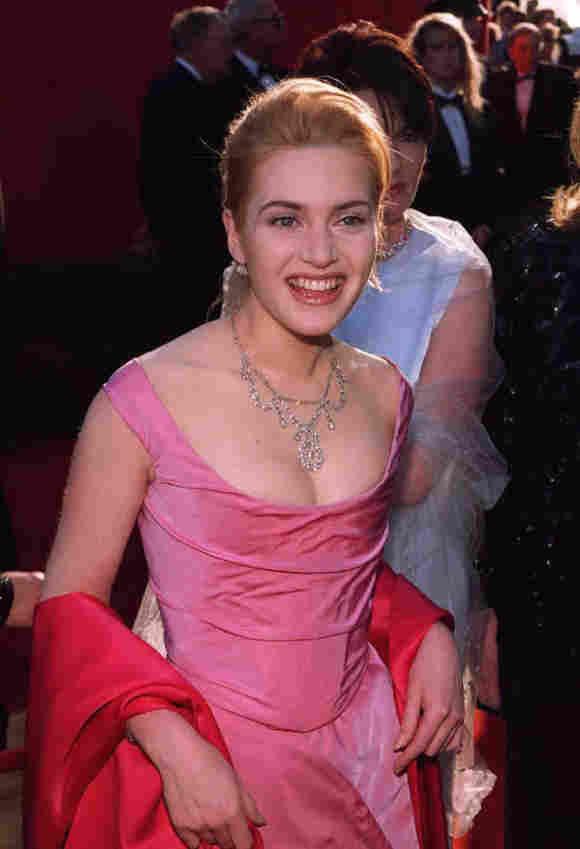 Kate Winslet in jungen Jahren