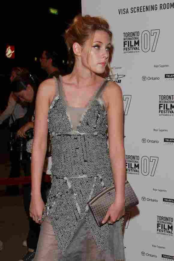 Kristen Stewart als Blondine