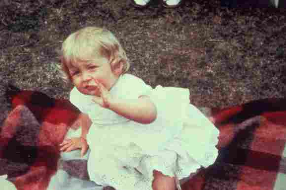 Lady Diana als Kind