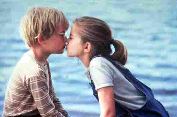 "Anna Chlumsky und Macaulay Culkin in ""My Girl"" 1991"