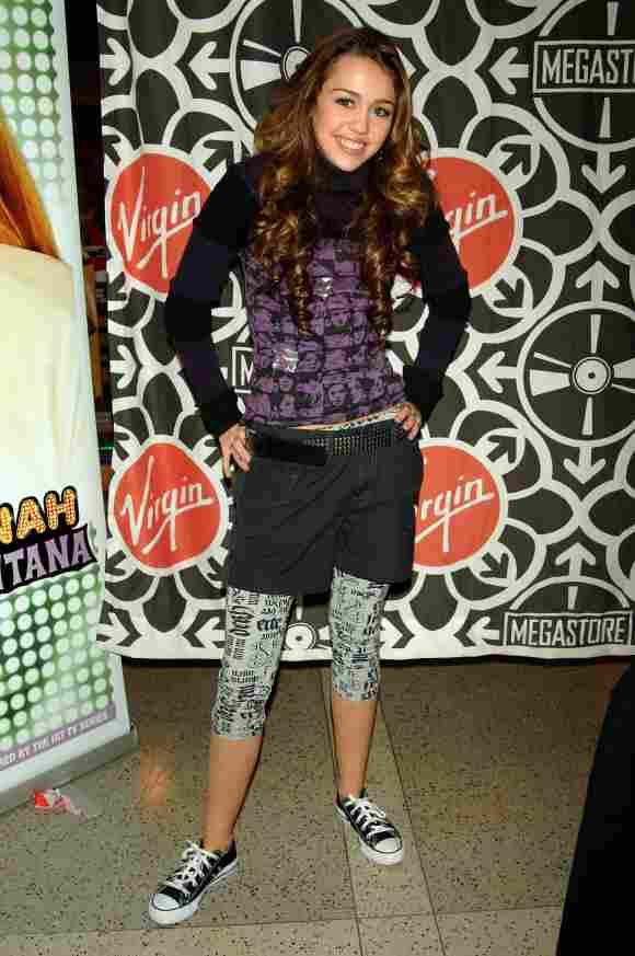 Miley Cyrus früher