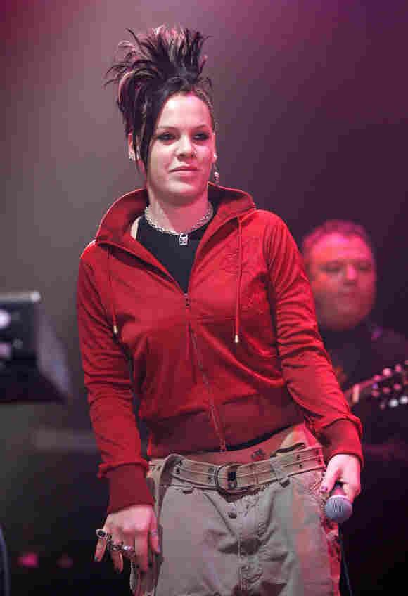 Sängerin Pink im Jahr 2005