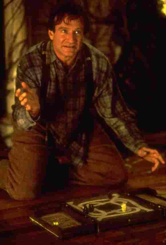 """Robin Williams alias """"Alan Parrish"""" das Spiel """"Jumanji"""" bis zum Ende durchspielen."""