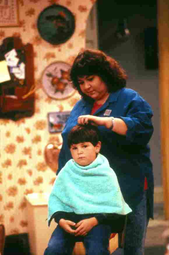 """Roseanne Bar und Michael Fishman in """"Roseanne"""""""