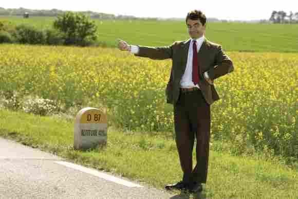 """Rowan Atkinson als """"Mr. Bean"""""""
