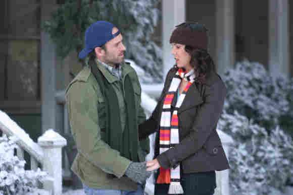 """Scott Patterson und Lauren Graham in """"Gilmore Girls"""""""