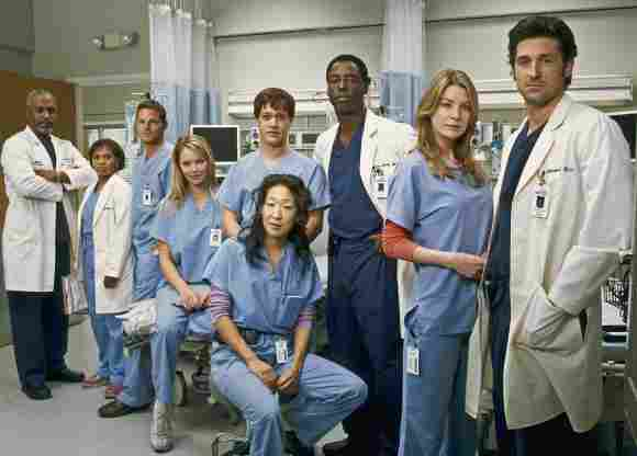 """""""Grey's Anatomy""""-Cast"""