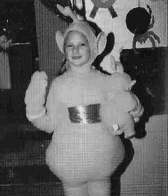 Taylor Swift Teletubbie an Halloween