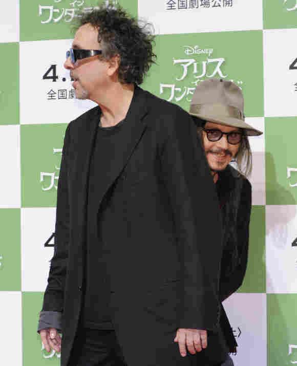 Johnny Depp crashte das Foto von Tim Burton
