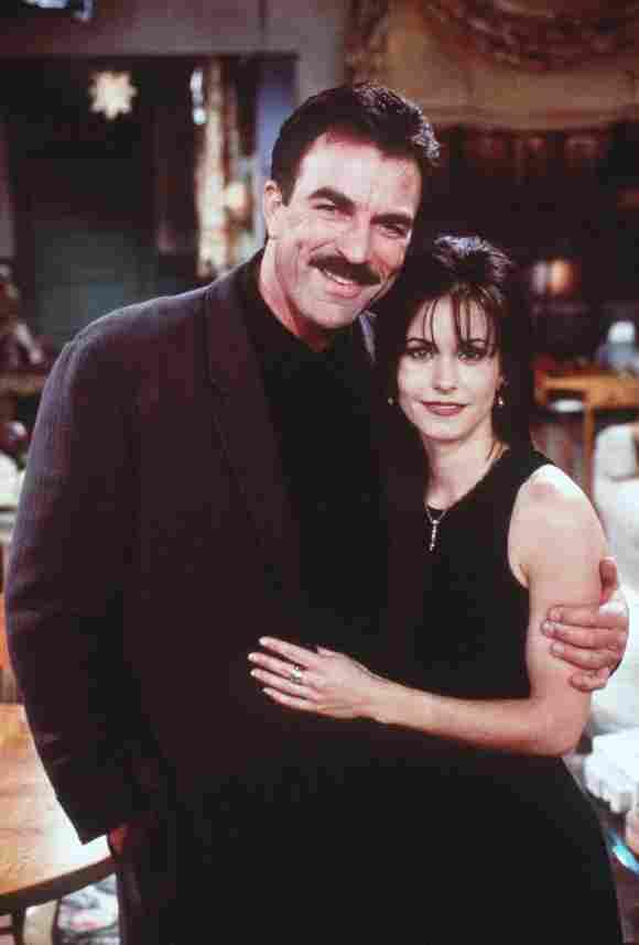 Tom Selleck und Courteney Cox spielten ein Paar in Friends