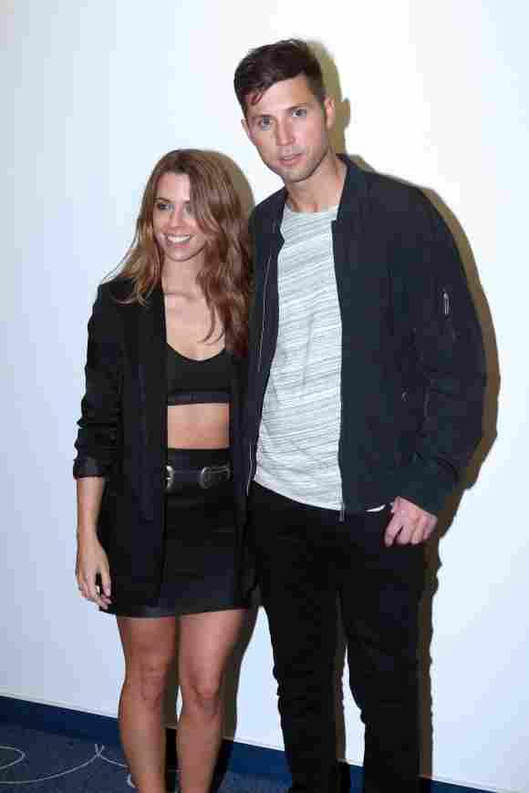 Andreas Ferber unterstützt seine Freundin Vanessa Mai