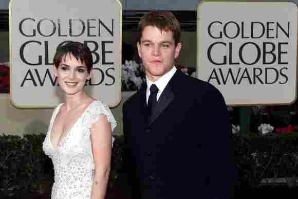 Winona Ryder und Matt Damon waren mal zusammen
