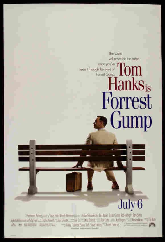 """""""Forrest Gump""""-Filmplakat"""