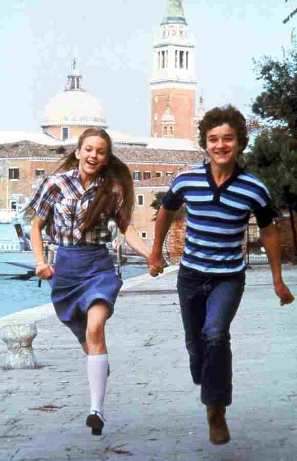 "Diane Lane und Thelonious Bernard in ""Ich liebe dich - I love you - je t'aime"""