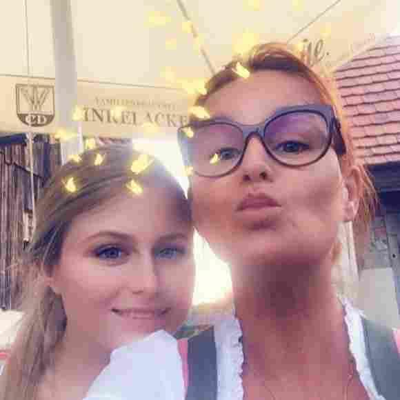 Andrea Berg und Tochter Lena-Maria