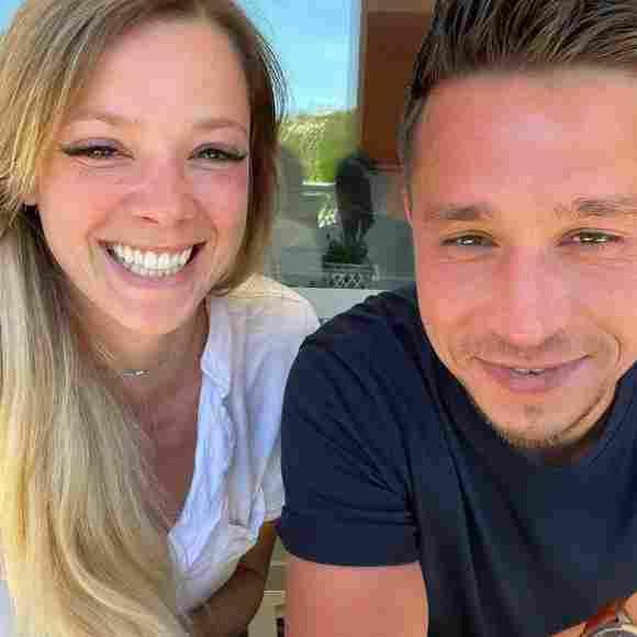 Anne Wünsche mit ihrem Freund Karim