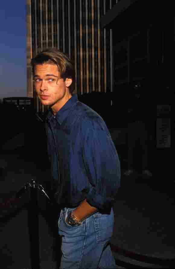 Brad Pitt war auch schon im Jahr 1989 ein Hingucker