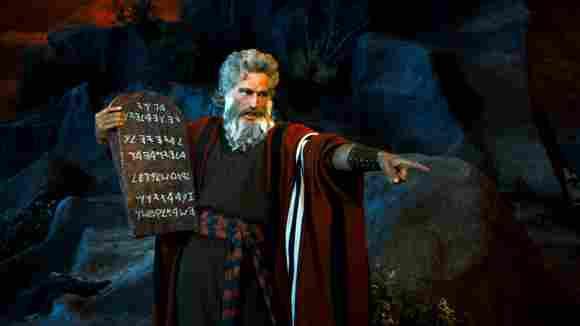 Charlton Heston die zehn Gebote Moses