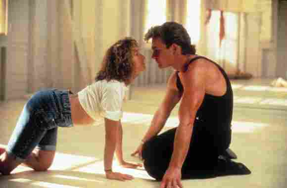 """Dirty Dancing"": Jennifer Grey und Patrick Swayze"