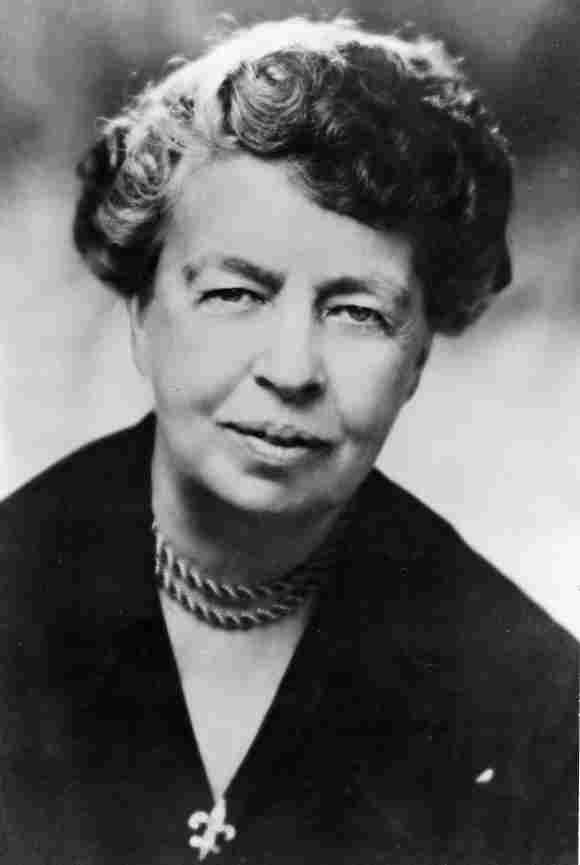 Eleanor Roosevelt, First Lady, USA