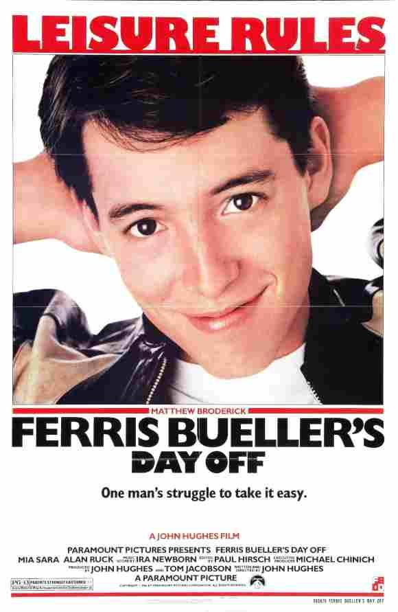 Ferris macht blau Plakat