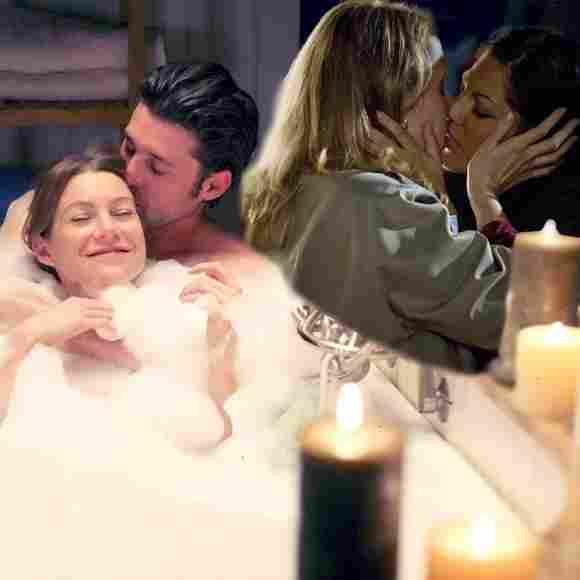 """""""Derek Shepherd"""" und """"Meredith Grey"""" sehen sich in die Augen in """"Greys Anatomy"""""""