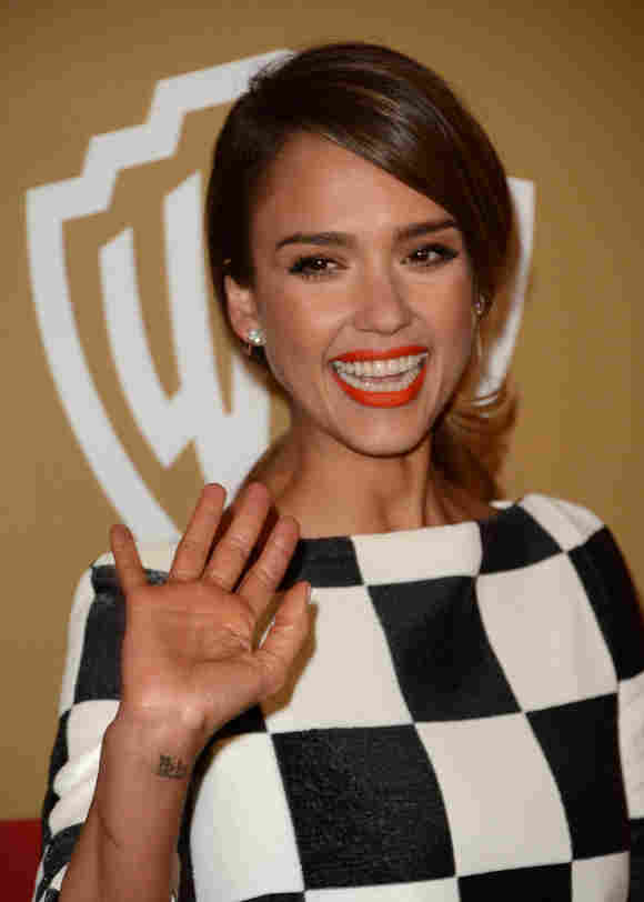 Jessica Alba Golden Globes Aftershow Party