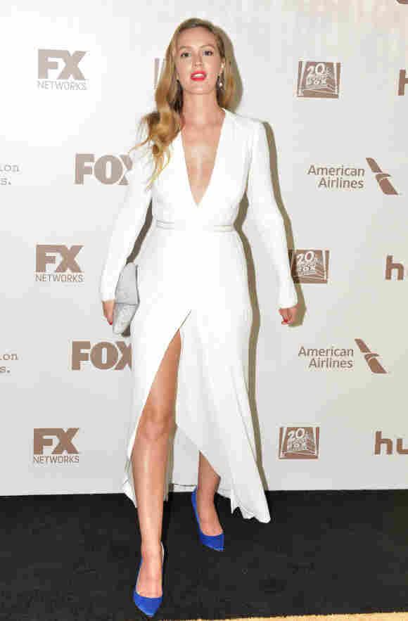 Leighton Meester bei den Golden Globe Awards 2017