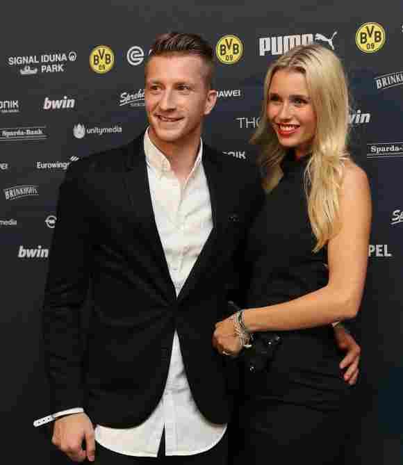 Marco Reus und seine Freundin Scarlett Gartmann