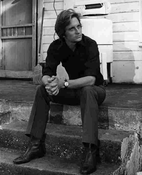 Michael Douglas im Jahr 1970