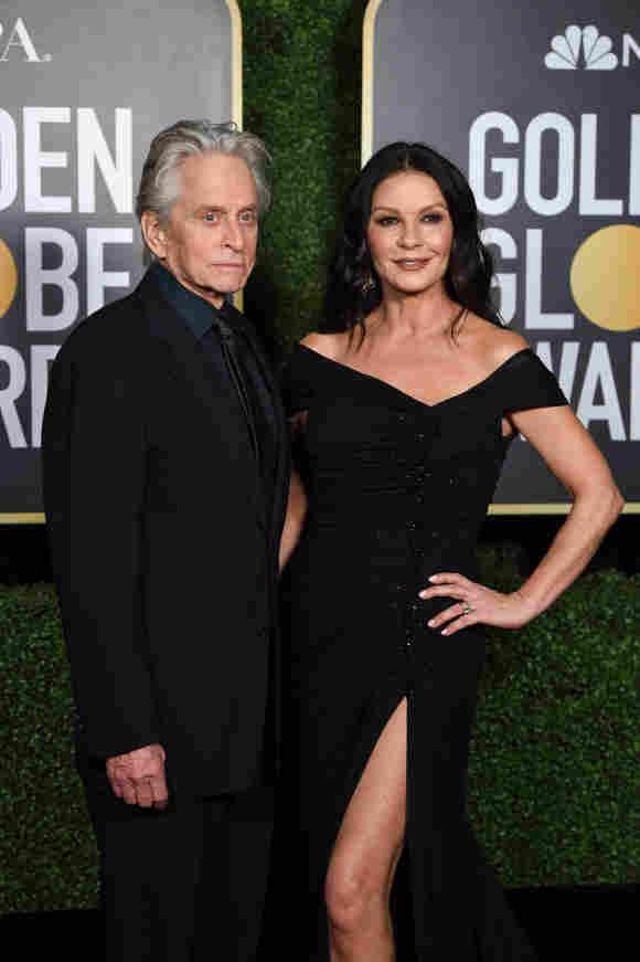Michael Douglas und Catherine Zeta-Jones bei den Golden Globes 2021