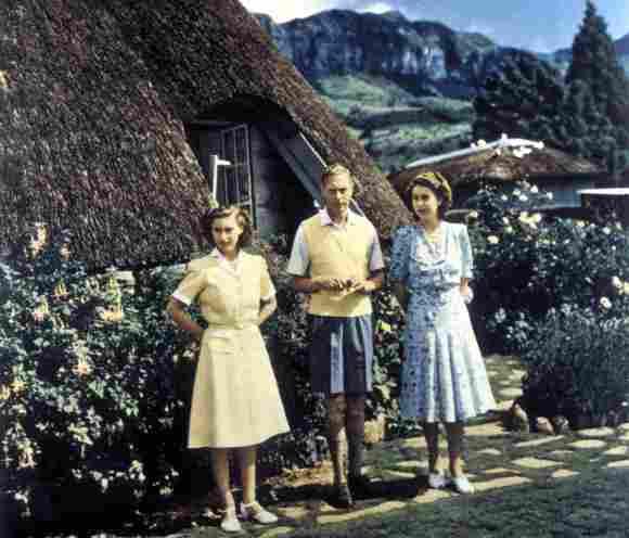 Königin Elisabeth II. machte im Jahr 1947 eine Auslandsreise nach Südafrika