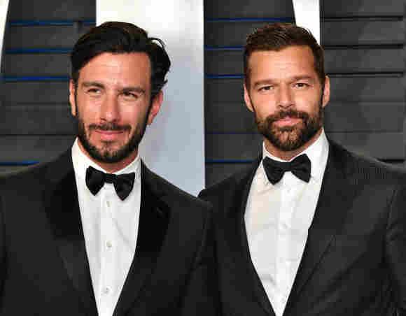 Ricky Martin und Jwan Yosef