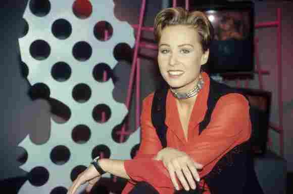 Sonja Zietlow im Jahr 1994