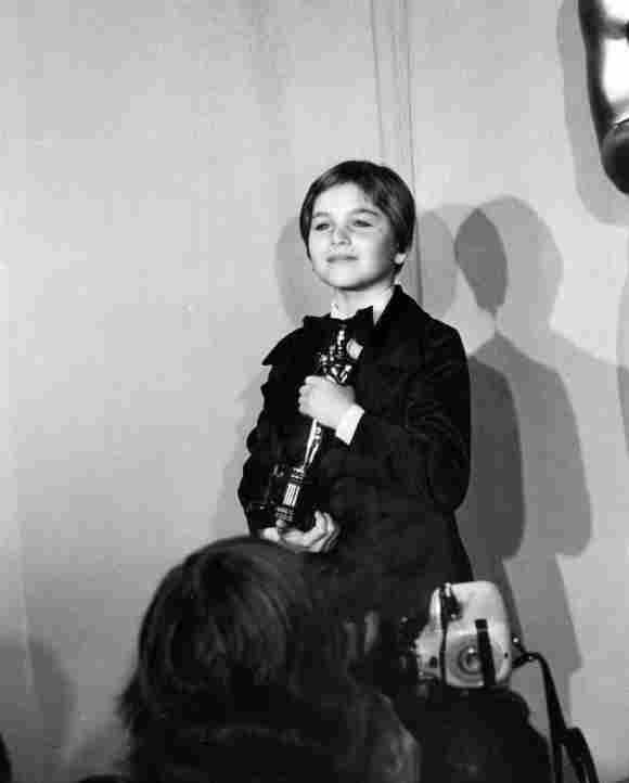 Tatum O'Neal bei den Oscars 1973