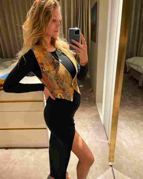Toni Garrn schwanger