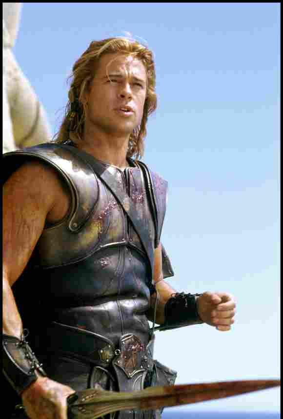 Troja Brad Pitt Achilles