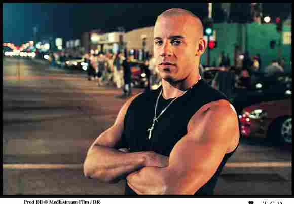 """Vin Diesel spielte als """"Dominic Toretto"""" in """"The Fast and the Furious""""."""