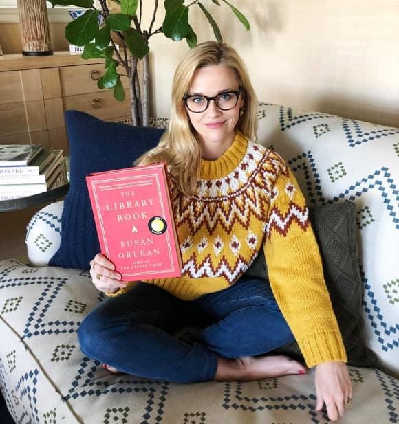 Reese Witherspoon zeigt sich ungewohnt mit Brille