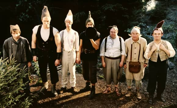 7 Zwerge Männer allein im Wald