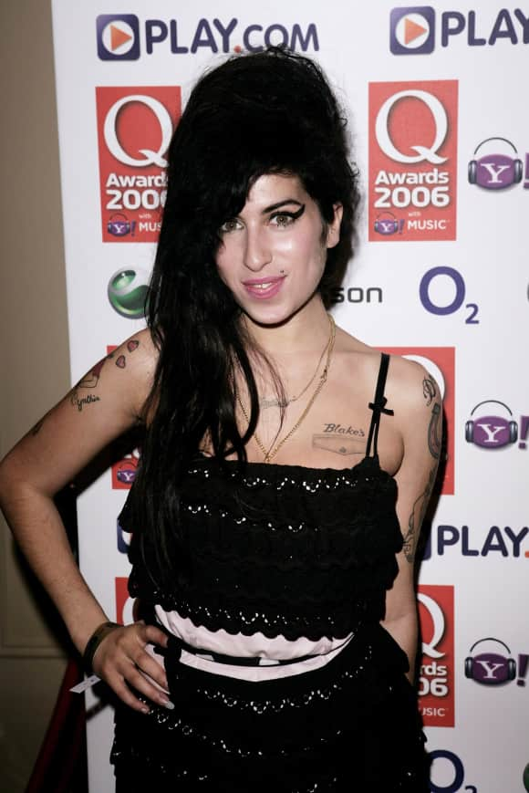 Amy Winehouse bei den Q Awards 2006