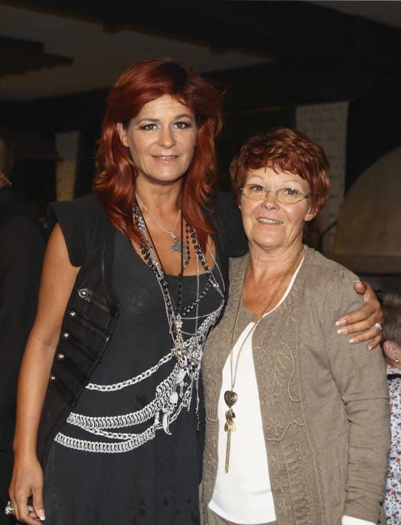 Andrea Berg und Mama Helga