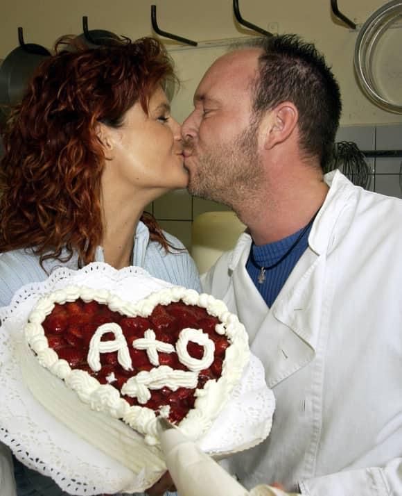 Andrea Berg und Olaf Henning im Jahr 2002