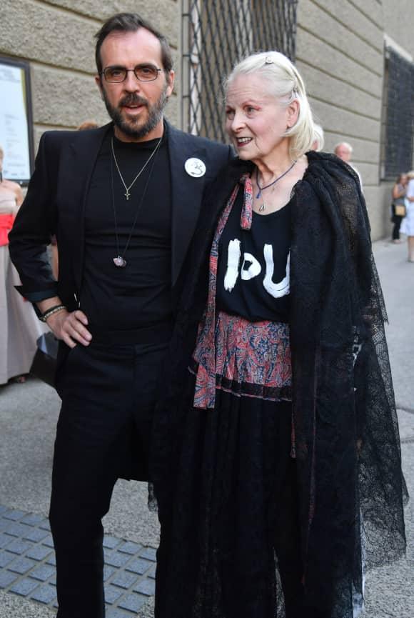 Andreas Kronthaler und Vivienne Westwood sind trotz 25 Jahren Altersunterschied schon über 20 Jahre verheiratet