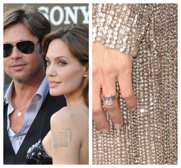 Angelina Jolie's engagement ring