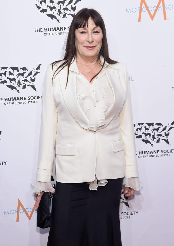 """The Addams Family"" star Anjelica Huston"