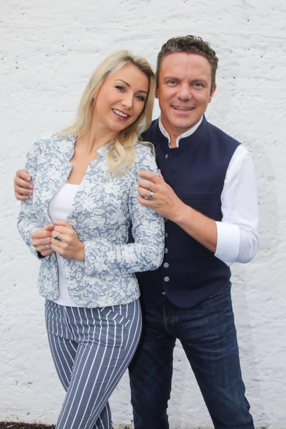 Anna-Carina Woitschak und Stefan Mross